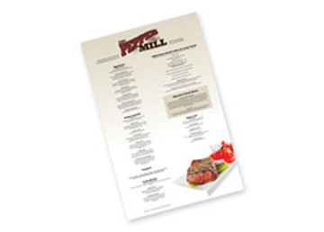 11 x 17 Sales Sheets - 1 Sided