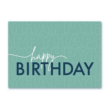 Birthday Happiness - Printed Envelope