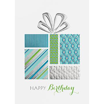 Birthday Present - Printed Envelope