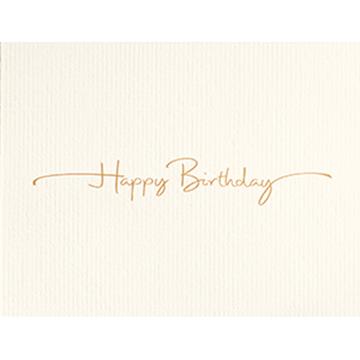 Birthday in Style - Printed Envelope
