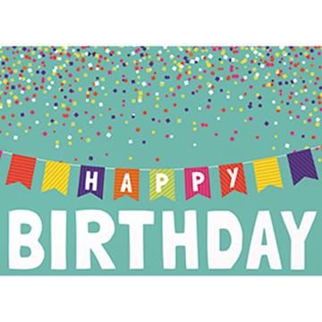 Banner Birthday - Printed Envelope