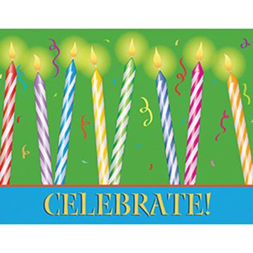 Birthday Glow - Printed Envelope