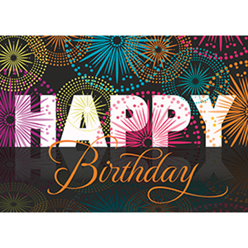 Birthday Blow-Out - Printed Envelope